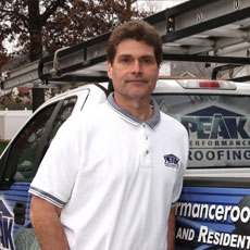 Chuck Adams - PEAK PERFORMANCE Roofing <em>  - St. Louis, MO  Roofing Contractors