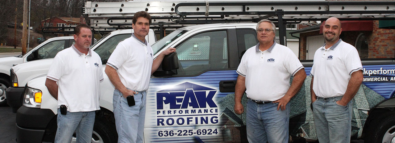 Roofing Contractors St.Louis Area, MO - PEAK PERFORMANCE ...